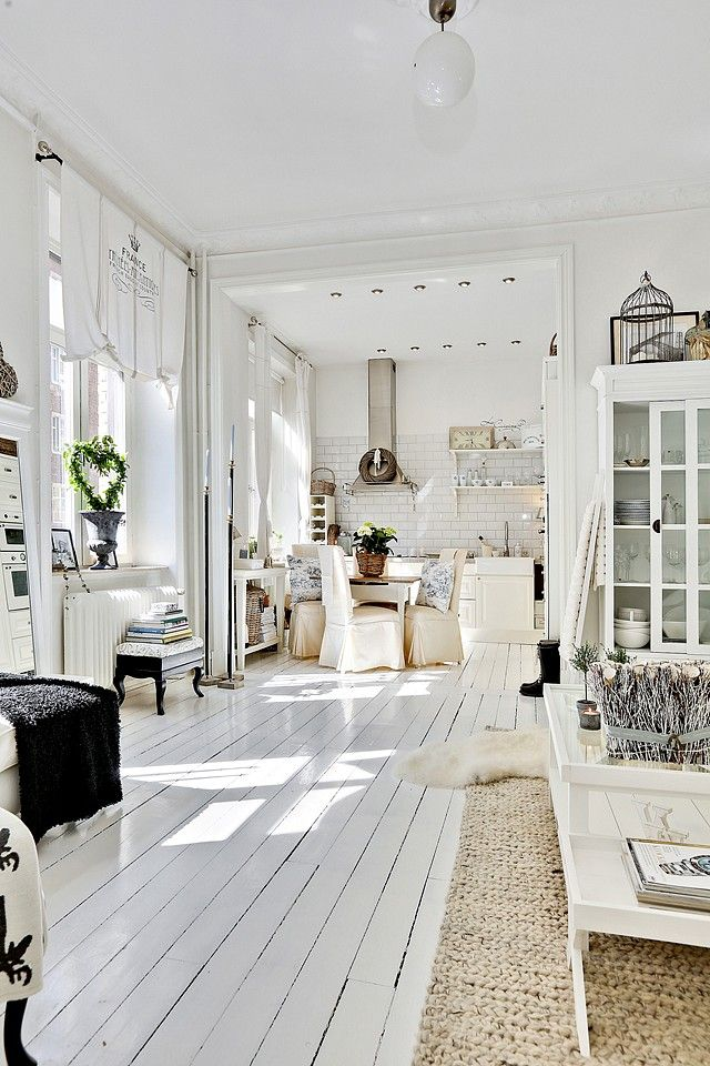 классика, белые двери